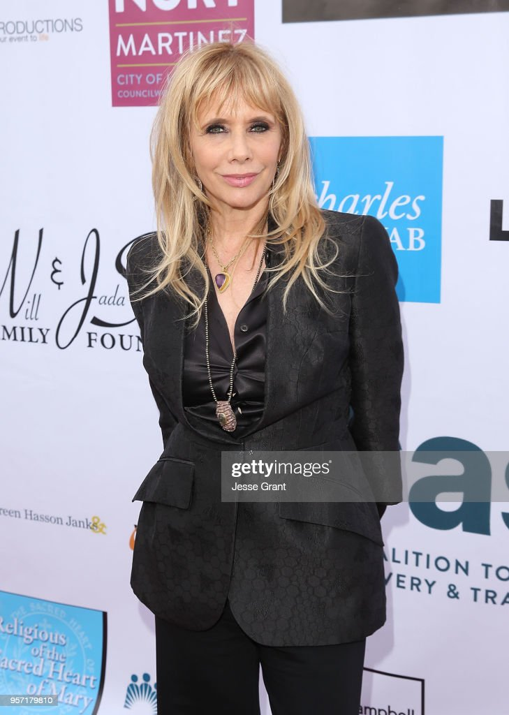 Actor Rosanna Arquette attends the Coalition to Abolish Slavery and Trafficking's 20th Annual 'From Slavery To Freedom Gala' at City Market Social House on May 10, 2018 in Los Angeles, California.