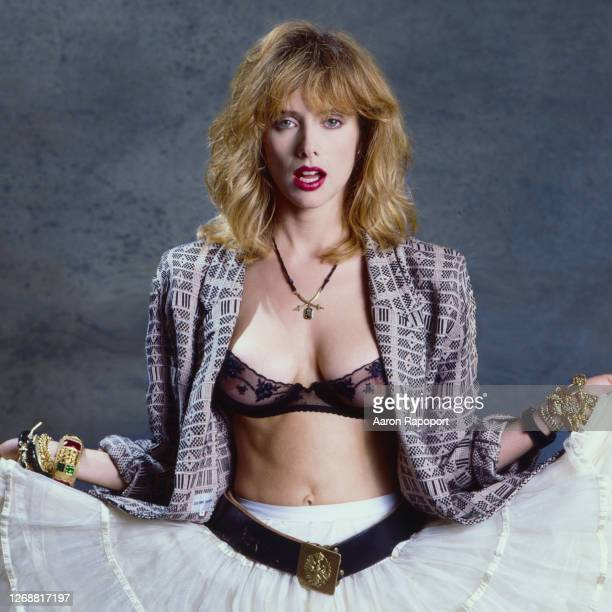 Actor Rosanna Arquette poses for a portrait circa 1985 in Los Angeles, California