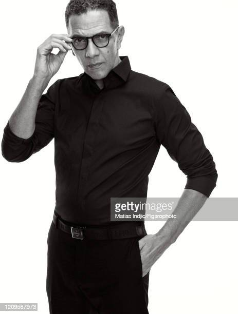 Actor Roschdy Zem poses for a portrait on March 9 2020 in Paris France