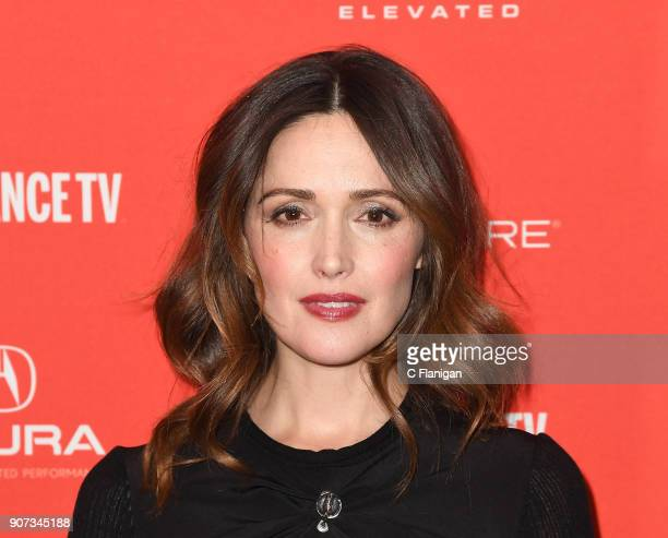 Actor Rose Byrne attends the 'Juliet Naked' Premiere during the 2018 Sundance Film Festival at Eccles Center Theatre on January 19 2018 in Park City...