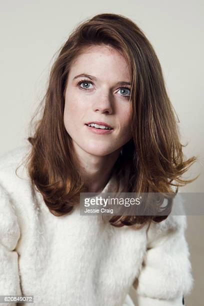 Actor Rose Leslie is photographed for the Picture Journal on August 19 2016 in London England