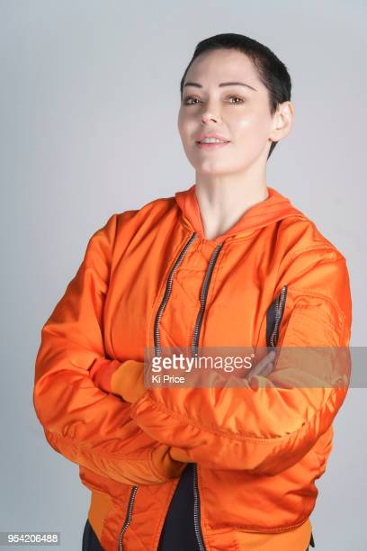 Actor Rose McGowan is photographed on April 27 2018 in London England