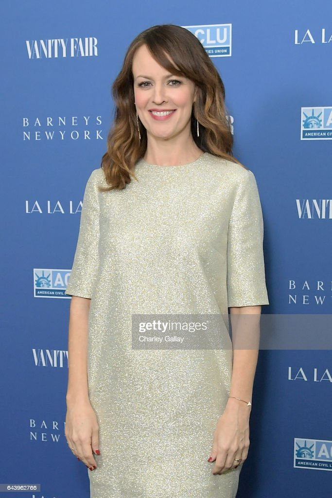 Actor Rosemarie DeWitt attends Vanity Fair and Barneys New York Private Dinner in Celebration of 'La La Land' at Chateau Marmont on February 22, 2017 in Los Angeles, California.