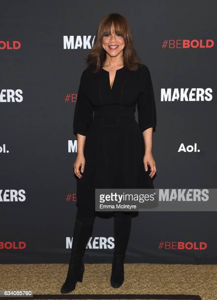Actor Rosie Perez attends the 2017 MAKERS Conference Day 1 at Terranea Resort on February 6 2017 in Rancho Palos Verdes California