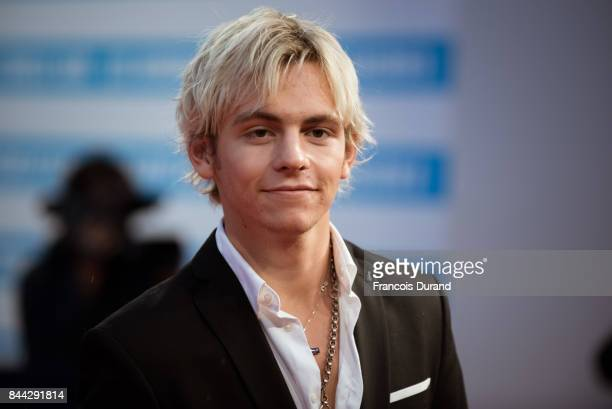 US actor Ross Lynch arrives at the screening for mother during the 43rd Deauville American Film Festival on September 8 2017 in Deauville France