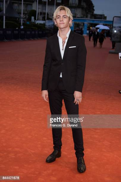 US actor Ross Lynch arrives at the screening for 'mother' during the 43rd Deauville American Film Festival on September 8 2017 in Deauville France