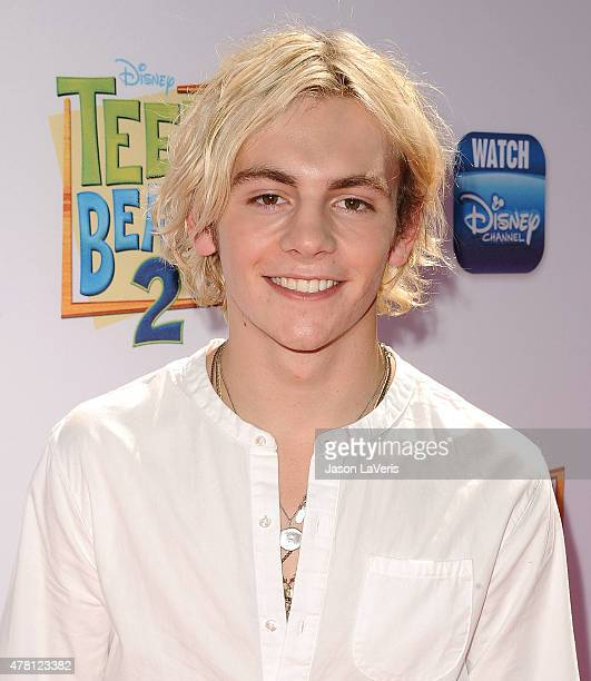 Actor Ross Lynch attends the premiere of 'Teen Beach 2' at Walt Disney Studios on June 22 2015 in Burbank California
