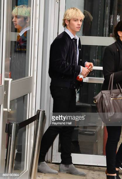 Actor Ross Lynch is seen walking in Soho on November 1 2017 in New York City