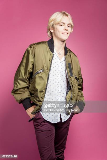 Actor Ross Lynch photographed for NY Daily News on April 21 in New York City