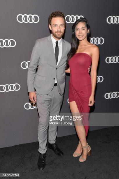 Actor Ross Marquand and guest attend Audi Celebrates the 69th Emmys at The Highlight Room at the Dream Hollywood on September 14 2017 in Hollywood...