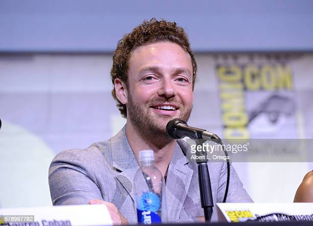 Actor Ross Marquand attends AMC's 'The Walking Dead' panel during ComicCon International 2016 at San Diego Convention Center on July 22 2016 in San...