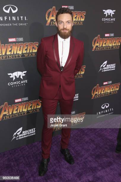Actor Ross Marquand attends the Los Angeles Global Premiere for Marvel Studios' Avengers Infinity War on April 23 2018 in Hollywood California
