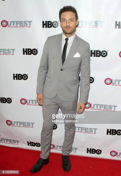 Actor Ross Marquand attends the opening night gala of 'God's Own Country' at the 2017 Outfest Los Angeles LGBT Film Festival at Orpheum Theatre on...
