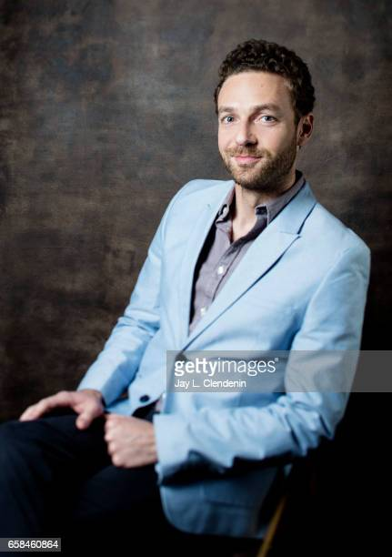 Actor Ross Marquand from AMC's 'The Walking Dead is photographed during Paley Fest for Los Angeles Times on March 17 2017 in Los Angeles California...