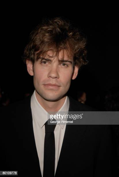 Actor Rossif Sutherland attends the 2008 Annual Genie Awards at the Metro Toronto Convention Centre in Toronto, Canada on March 3, 2008.