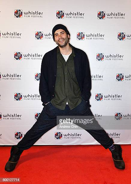 Actor Rossif Sutherland attends the Borsos Competition/Western Canadian premiere of 'River' during the 15th Annual Film Festival at Whistler...
