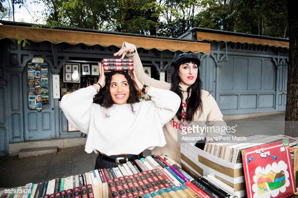 Actor Rossy de Palma is photographed with her daughter Luna Garcia for Paris Match on November 8 2017 in Madrid Spain