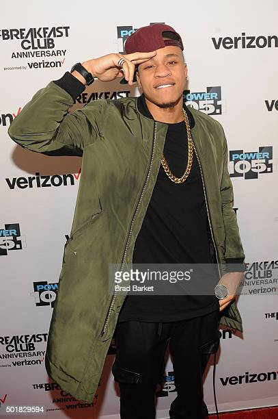 Actor Rotimi attends the Power1051 Breakfast Club Anniversary party presented by Verizon on December 17 2015 in New York City