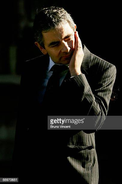 Actor Rowan Atkinson leaves the Houses of Parliament on October 20 2005 in London The final ballot to decide which to MP's will go forward as...