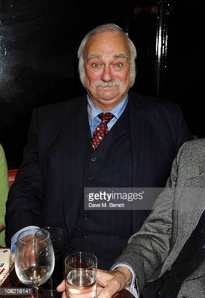 Actor Roy Hudd attends the Opening Night after party for the West End production of 'When We Are Married' at National Portrait Gallery on October 27...