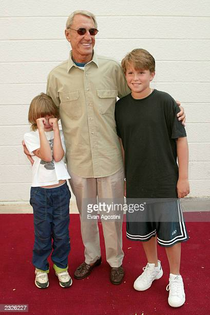 Actor Roy Scheider with daughter Molly and son Christian arriving at a Men In Black II screening to benefit Hayground School at the UA East Hampton...