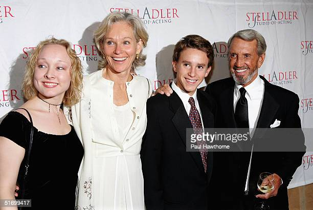 Actor Roy Scheider with daughter Molly, wife Brenda King and son Christian Scheider attend the Stella by Starlight gala at The Pierre hotel November...