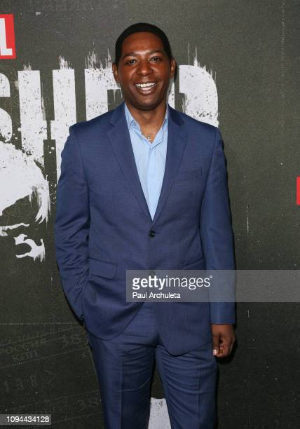 Actor Royce Johnson attends Marvel's The Punisher Los Angeles premiere at the ArcLight Hollywood on January 14 2019 in Hollywood California