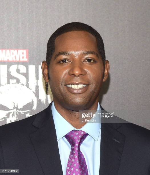 Actor Royce Johnson attends the 'Marvel's The Punisher' New York Premiere on November 6 2017 in New York City