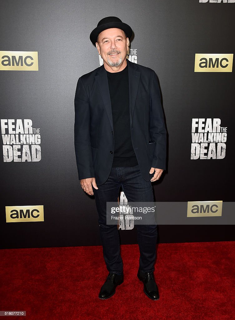 Actor Ruben Blades attends the premiere of AMC's 'Fear The Walking Dead' Season 2 at Cinemark Playa Vista on March 29, 2016 in Los Angeles, California.