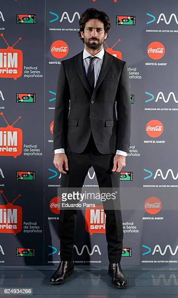 Actor Ruben Cortada attends 'Lo que escondian sus ojos' premiere at Cineteca Matadero on November 21 2016 in Madrid Spain