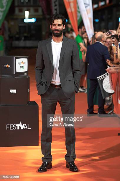 Actor Ruben Cortada attends 'Olmos y Robles' premiere at the Principal Theater during FesTVal 2016 Day 2 Televison Festival on September 6 2016 in...