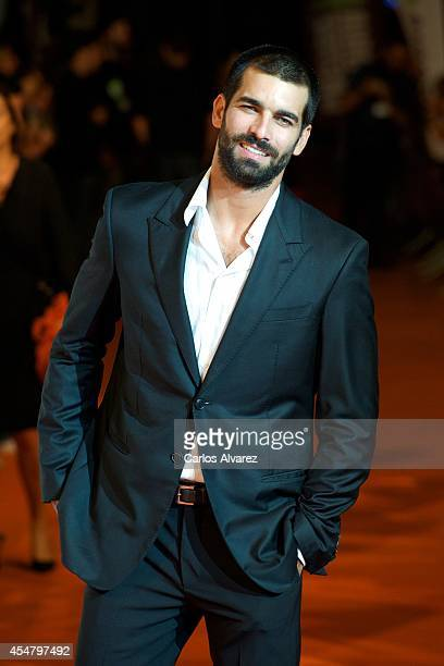 Actor Ruben Cortada attends the 6th FesTVal Television Festival 2014 closing ceremony at the Principal Theater on September 6 2014 in VitoriaGasteiz...