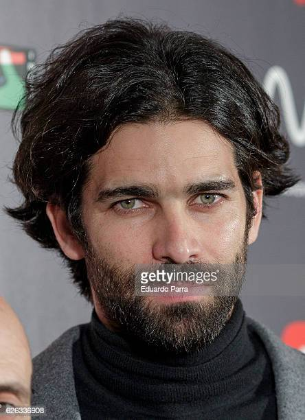 Actor Ruben Cortada attends the 'MIM awards' photocall at ME hotel on November 28 2016 in Madrid Spain