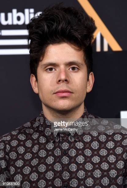 Actor Rudy Mancuso attends Republic Records Celebrates the GRAMMY Awards in Partnership with Cadillac Ciroc and Barclays Center at Cadillac House on...