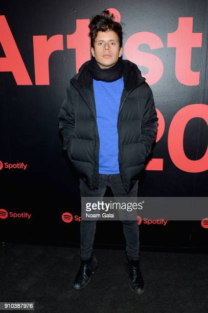 Actor Rudy Mancuso attends 'Spotify's Best New Artist Party' at Skylight Clarkson on January 25 2018 in New York City