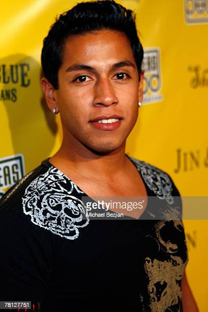 Actor Rudy Youngblood arrives at the Black Eyed Peas Benefit at Vanguard on November 27 2007 in Los Angeles California