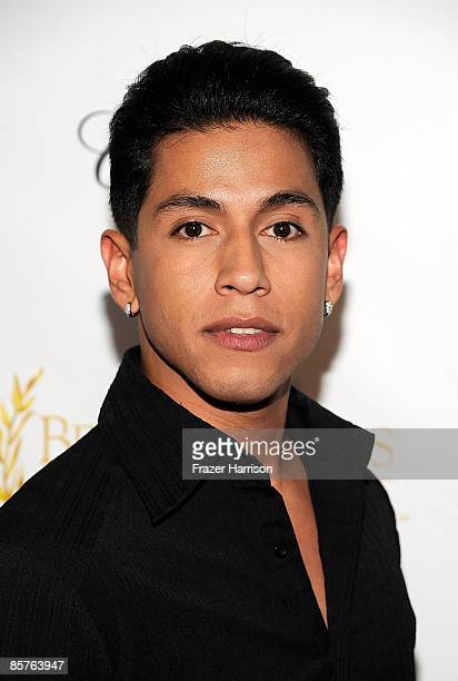 Actor Rudy Youngblood arrives at the Clarity Theater for the 9th annual Beverly Hills Film Festival opening night gala on April 1 2009 in Beverly...