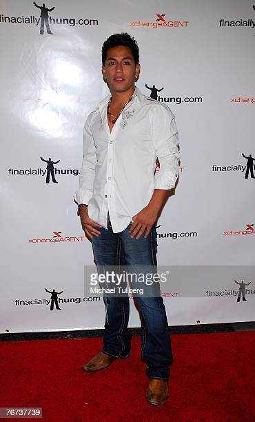 Actor Rudy Youngblood arrives at the Financially Hung's Black Card Launch Party at the Vice nightclub on September 13 2007 in Los Angeles California
