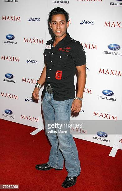 Actor Rudy Youngblood arrives at the Maxim Magazine's ICU Event at Area on August 2nd 2007 in Los Angeles California