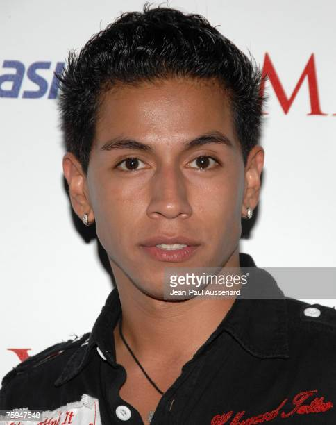Actor Rudy Youngblood arrives at the Maxim Magazine's ICU Event held at Area on August 2nd 2007 in Los Angeles California