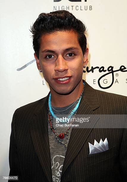 Actor Rudy Youngblood attends a party hosted by GQ Magazine at the Mirage Hotel and Casino on September 8 2007 in Las Vegas Nevada