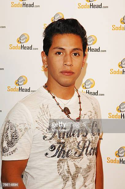 Actor Rudy Youngblood attends the Soda Head room at the Star Lounge In Honor of Rolling Stone's 40th Anniversary at the Hard Rock Hotel and Casino on...