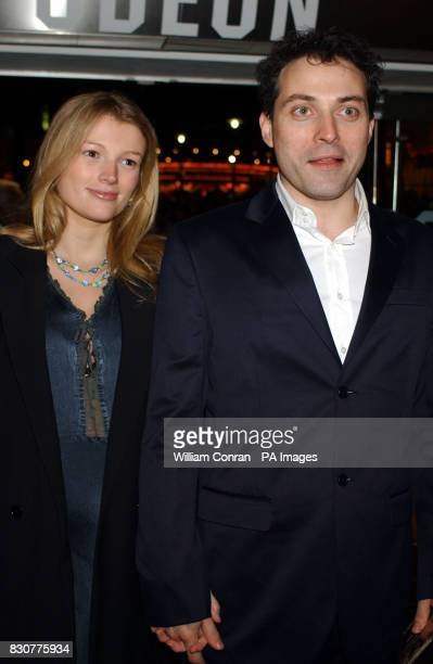 Actor Rufus Sewell and Amy Gardner arrive at the Odeon Leicester Square in London for the world premiere of Lord of the Rings The Fellowship of the...
