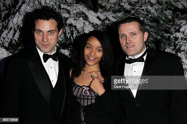 Actor Rufus Sewell and Amy Gardner attend the aftershow party following the Royal Film Performance and World Premiere of 'The Chronicles Of Narnia'...