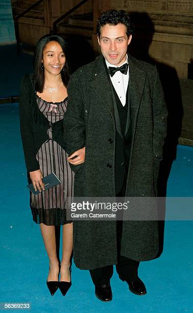 Actor Rufus Sewell and his wife Amy Gardner arrive at the Royal Film Performance and World Premiere of 'The Chronicles Of Narnia' at the Royal Albert...
