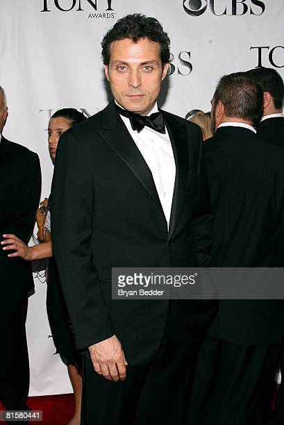 Actor Rufus Sewell arrives at the 62nd Annual Tony Awards held at Radio City Music Hall on June 15 2008 in New York City