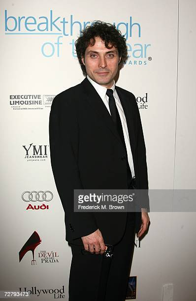 Actor Rufus Sewell arrives at the Hollywood Life magazine's 6th Annual Breakthrough Awards held at Henry Fonda Music Box Theatre on December 10 2006...