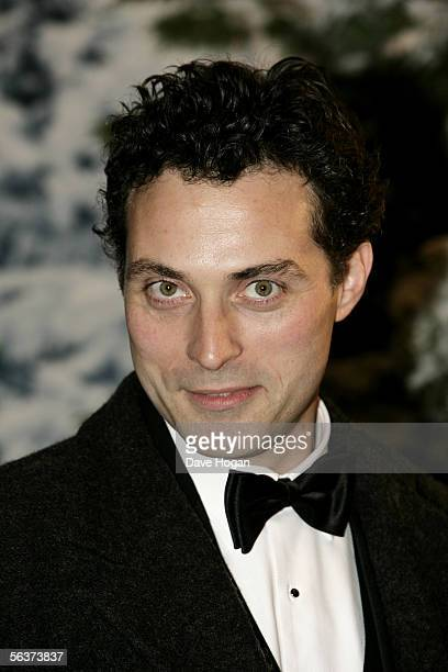 Actor Rufus Sewell arrives at the Royal Film Performance and World Premiere of 'The Chronicles Of Narnia' at the Royal Albert Hall on December 7 2005...
