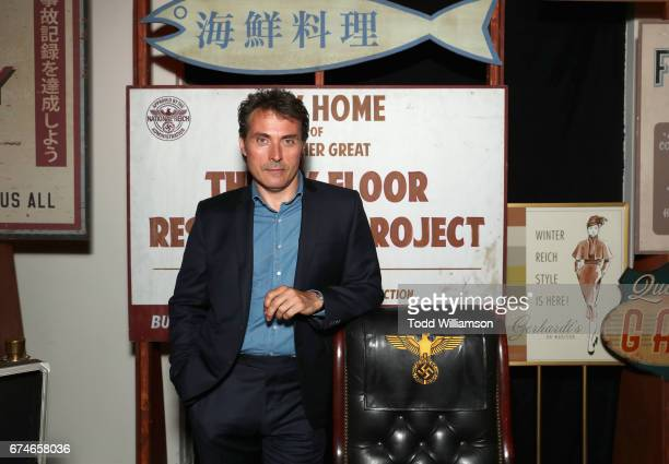 Actor Rufus Sewell at the Amazon Original Series The Man in the High Castle Emmy FYC screening and panel at the Hollywood Athletic Club on April 28...