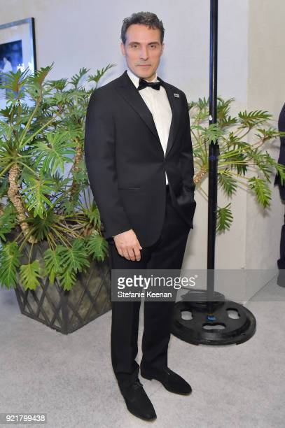 Actor Rufus Sewell attends the Costume Designers Guild Awards at The Beverly Hilton Hotel on February 20 2018 in Beverly Hills California